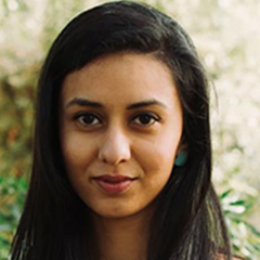 Vibha Kothari (MBA '19), founder of Re-Invent